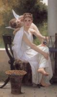 William-Adolphe Bouguereau : Work Interrupted