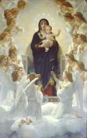 William-Adolphe Bouguereau : The Virgin with Angels