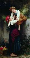 William-Adolphe Bouguereau : Little Thieves