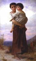 William-Adolphe Bouguereau : Young Gypsies