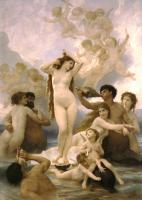 William-Adolphe Bouguereau : Birth of Venus
