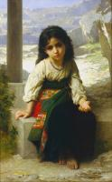 William-Adolphe Bouguereau : The little beggar