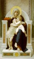William-Adolphe Bouguereau : The Virgin, the Baby Jesus and Saint John the Baptist