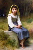 William-Adolphe Bouguereau : Meditation