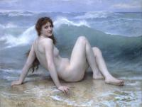 William-Adolphe Bouguereau : The Wave
