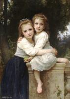 William-Adolphe Bouguereau : Two Sisters