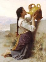 William-Adolphe Bouguereau : Thirst