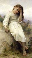 William-Adolphe Bouguereau : Little Thief