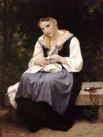 William-Adolphe Bouguereau : Young Worker