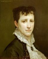 William-Adolphe Bouguereau : Portrait de Mademoiselle Elizabeth Gardner(Portrait of Miss Elizabeth Gardner)