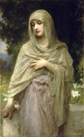 William-Adolphe Bouguereau : Modestie(Modesty)