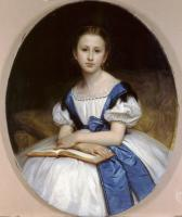 William-Adolphe Bouguereau : Portrait de Mlle Brissac (Portrait of Miss Brissac)