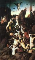 Dieric Bouts : The Fall of the Damned