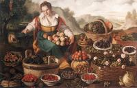 Vincenzo Campi : The Fruit Seller