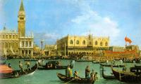 Canaletto : The Basin of San Marco on Ascension Day