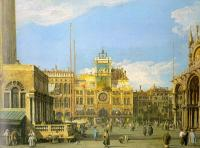 Canaletto : Piazza San Marco, Looking North