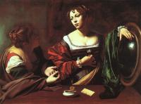 Caravaggio : Martha and Mary Magdalene