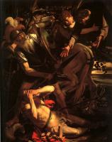 Caravaggio : The Conversion of St.