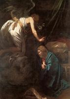 Caravaggio : The Annunciation