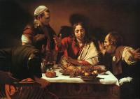 Caravaggio : The Supper at Emmaus