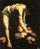 Caravaggio : David and Goliath
