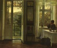 Carl Holsoe : At The Window