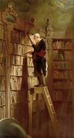 Carl Spitzweg : The Bookworm