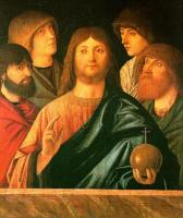 Carpaccio : The Blessing Redeemer between Four Apostles