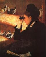 Mary Cassatt : At the Opera