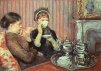 Mary Cassatt : The Cup of Tea