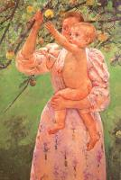 Mary Cassatt : Baby Reaching for an Apple