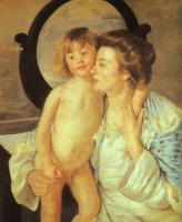 Mary Cassatt : Mother and Child (The Oval Mirror)