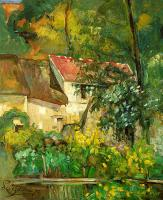 Paul Cezanne : The House of Pere Lacroix in Auvers