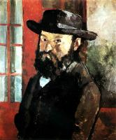Paul Cezanne : Self-Portrait