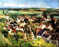 Paul Cezanne : View of Auvers