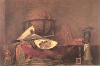 Jean Baptiste Simeon Chardin : The Attributes of the Sciences