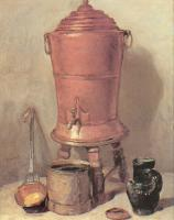 Jean Baptiste Simeon Chardin : The Copper Water Urn