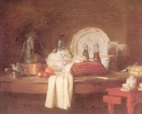 Jean Baptiste Simeon Chardin : The Butler's Table