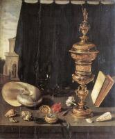 Pieter Claesz : Still Life with Great Golden Goblet