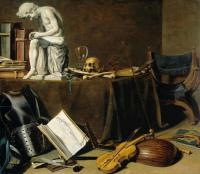 Pieter Claesz : Vanitas Still Life with the Spinario