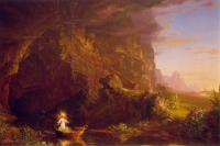 Thomas Cole : The Voyage of Life: Childhood