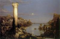 Thomas Cole : The Course of the Empire: Desolation