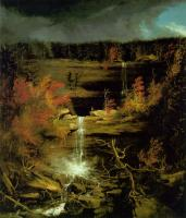 Thomas Cole : Falls of Kaaterskill