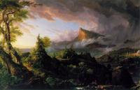 Thomas Cole : The Course of the Empire: The Savage State