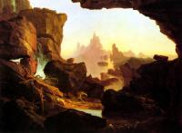Thomas Cole : The Subsiding of the Waters of the Deluge
