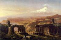 Thomas Cole : Mount Aetna from Taormina