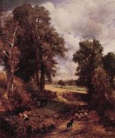 John Constable : The Cornfield