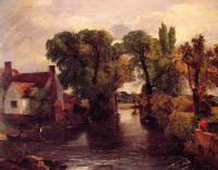 John Constable : Mill Stream