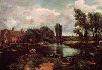 John Constable : A Water-Mill