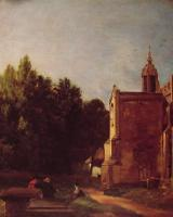 John Constable : A Church Porch